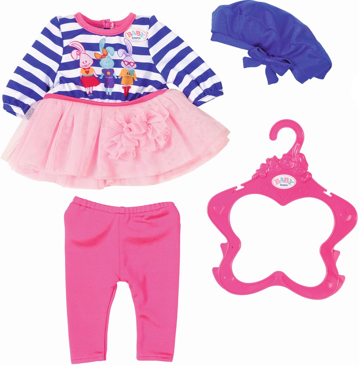 Baby Born� Fashion Collectie: blauw/roze
