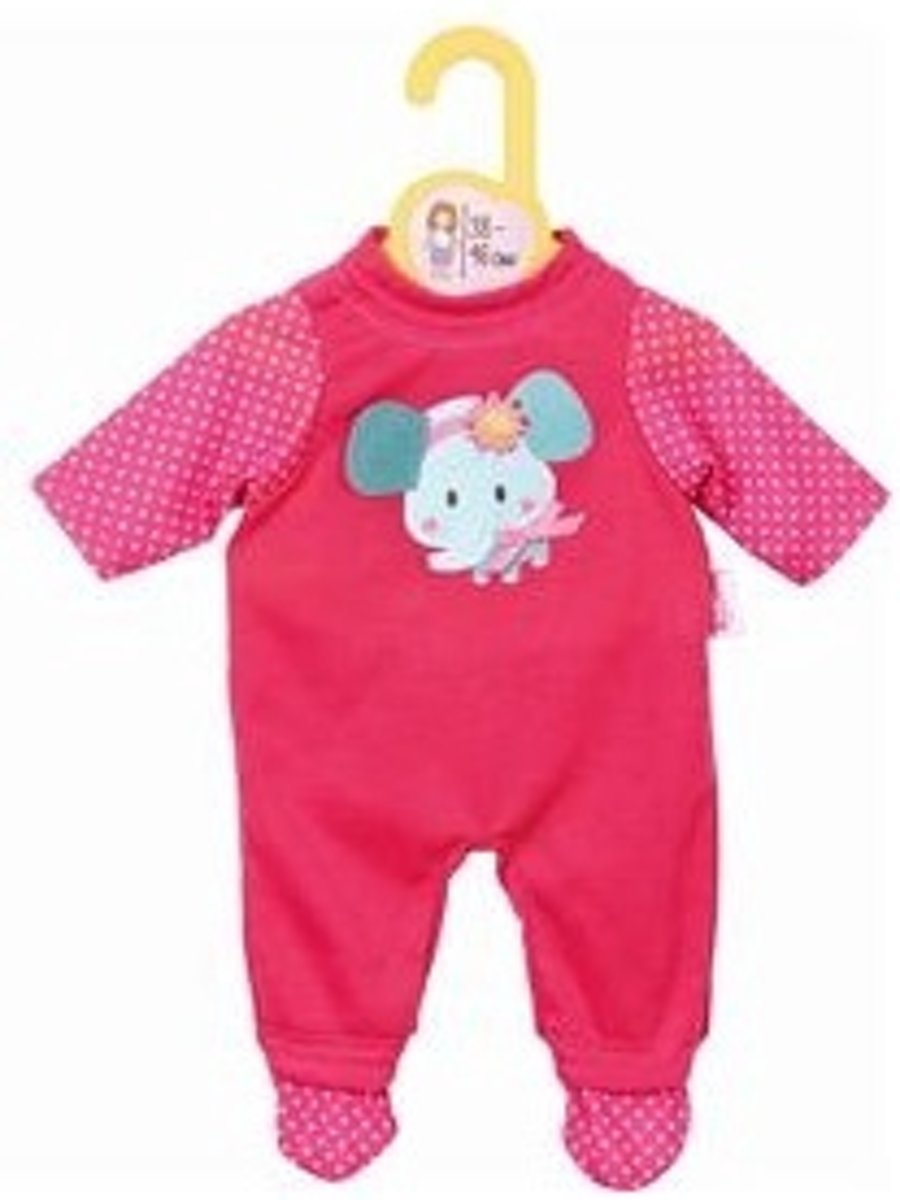 Zapf Creation Dolly Moda Pyjama-romper Roze 34 Cm