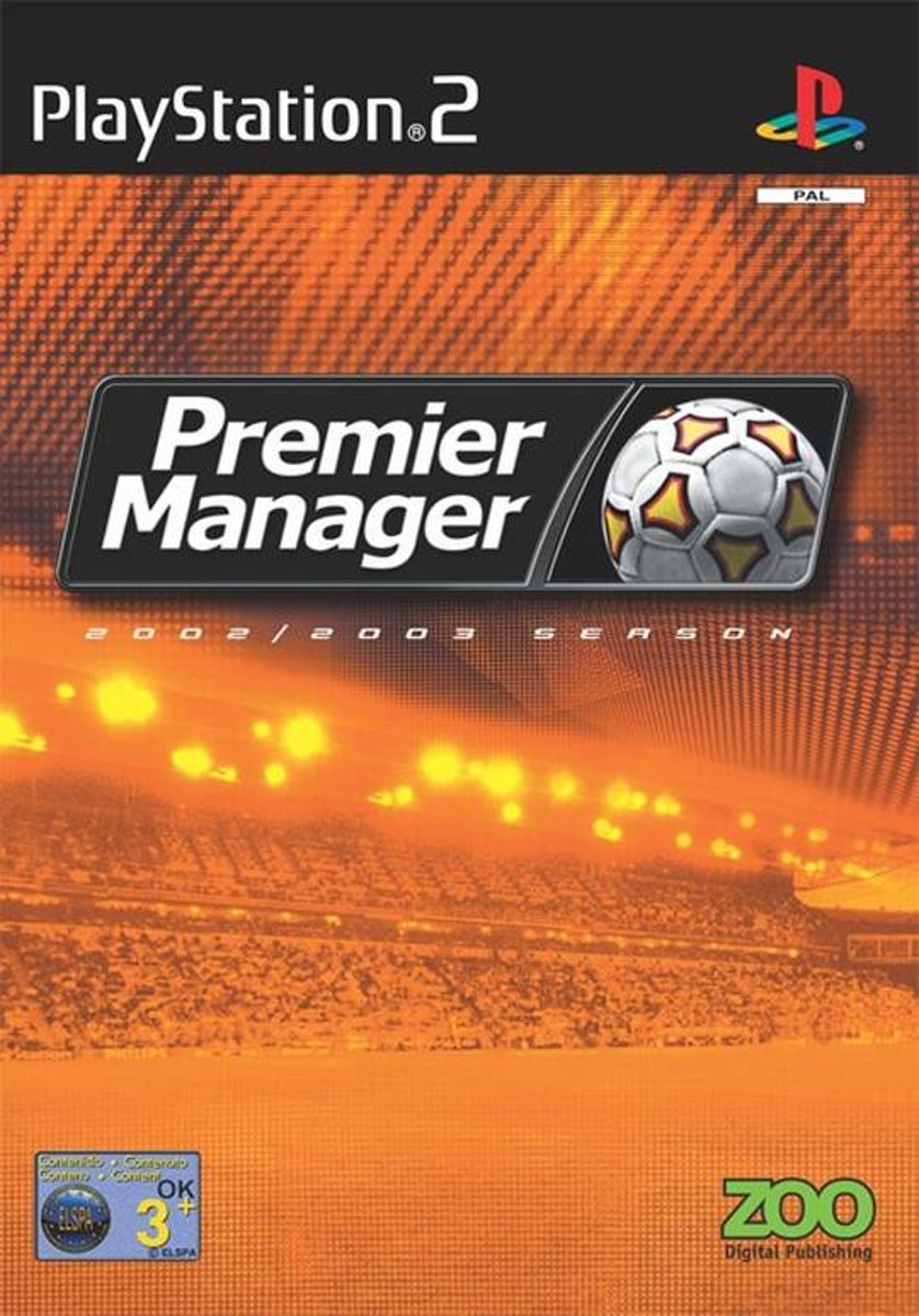 Premier Manager 2002 - 2003 Season /PS2