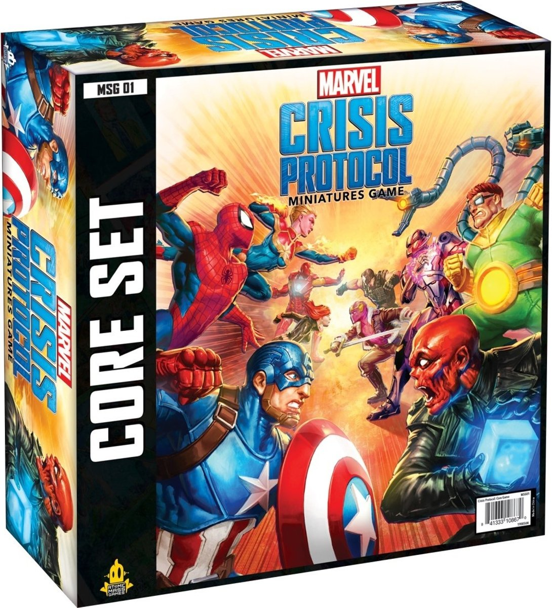 Atomic Mass Games Bordspel Marvel Crisis Protocol (en)