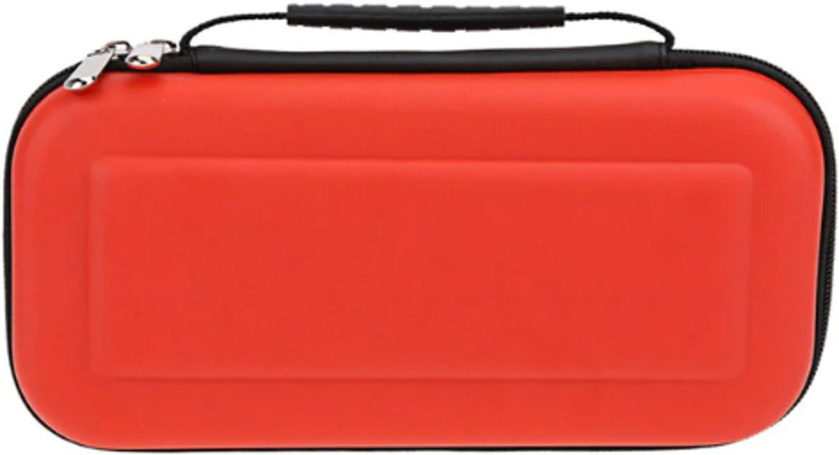 Nintendo switch case rood