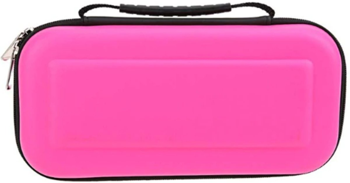 Nintendo switch case roze