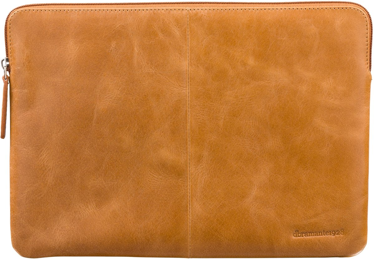 Dbramante1928 Skagen Laptop Sleeve voor de MacBook Pro 15 inch / Laptop 14 inch - Tan