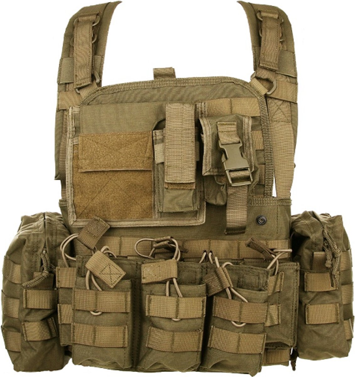 Fostex Chest rig Operator Coyote