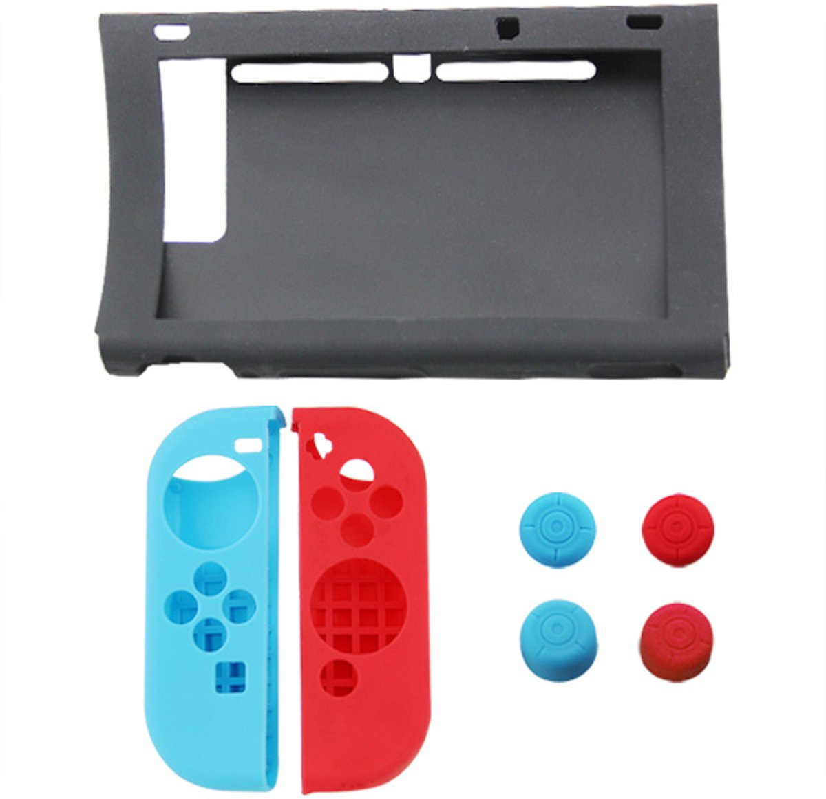 Nintendo Switch - Siliconen case set 7-delig