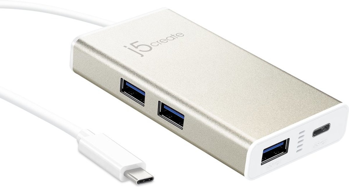 J5create USB Type-C 4-port
