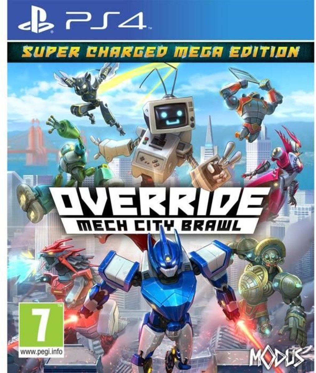 Override: Mech City Brawl - Super Charged Mega Edition Jeu PS4