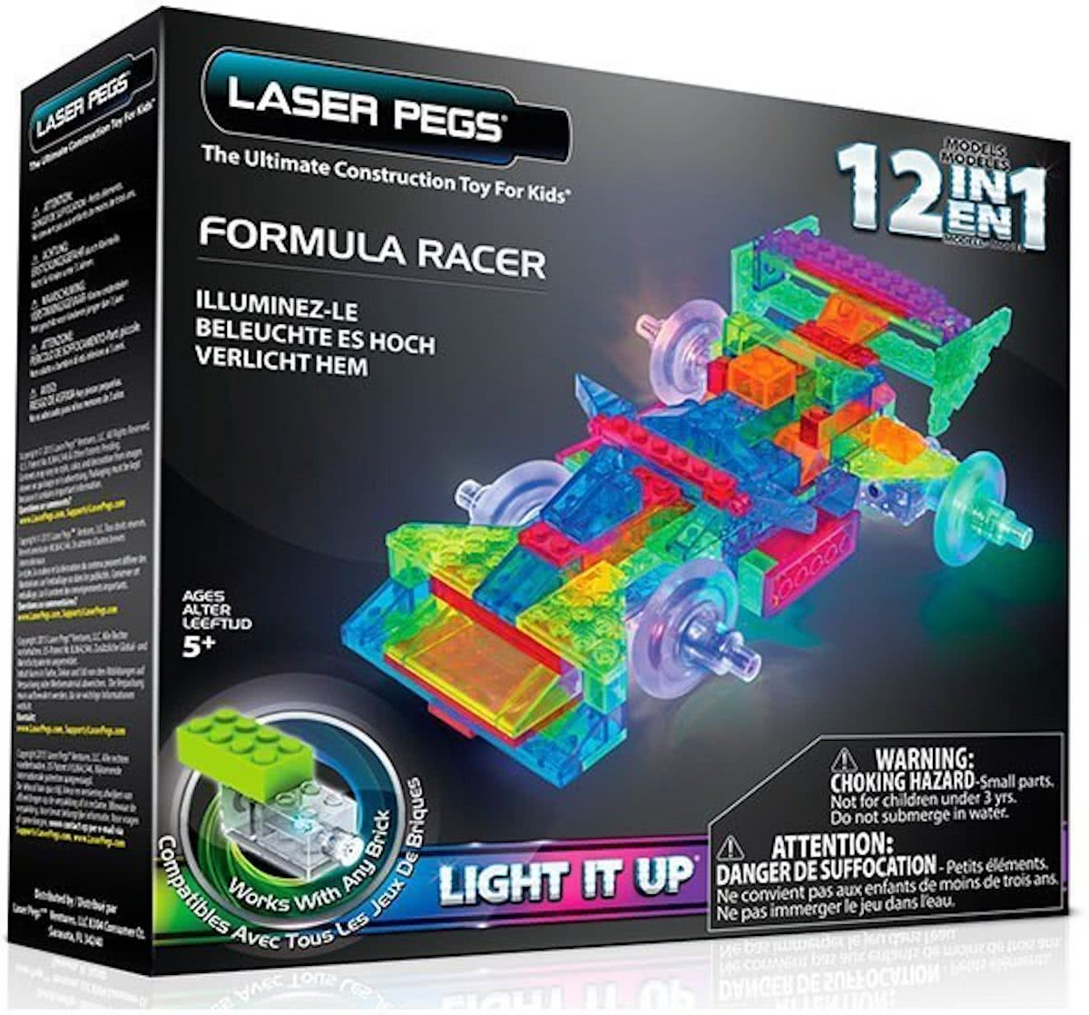LaserPegs 12 in 1 Formula Racer