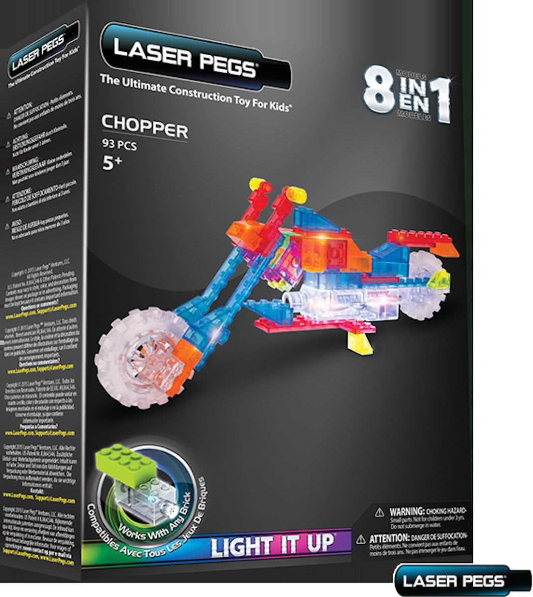 LaserPegs 8 in 1 Chopper