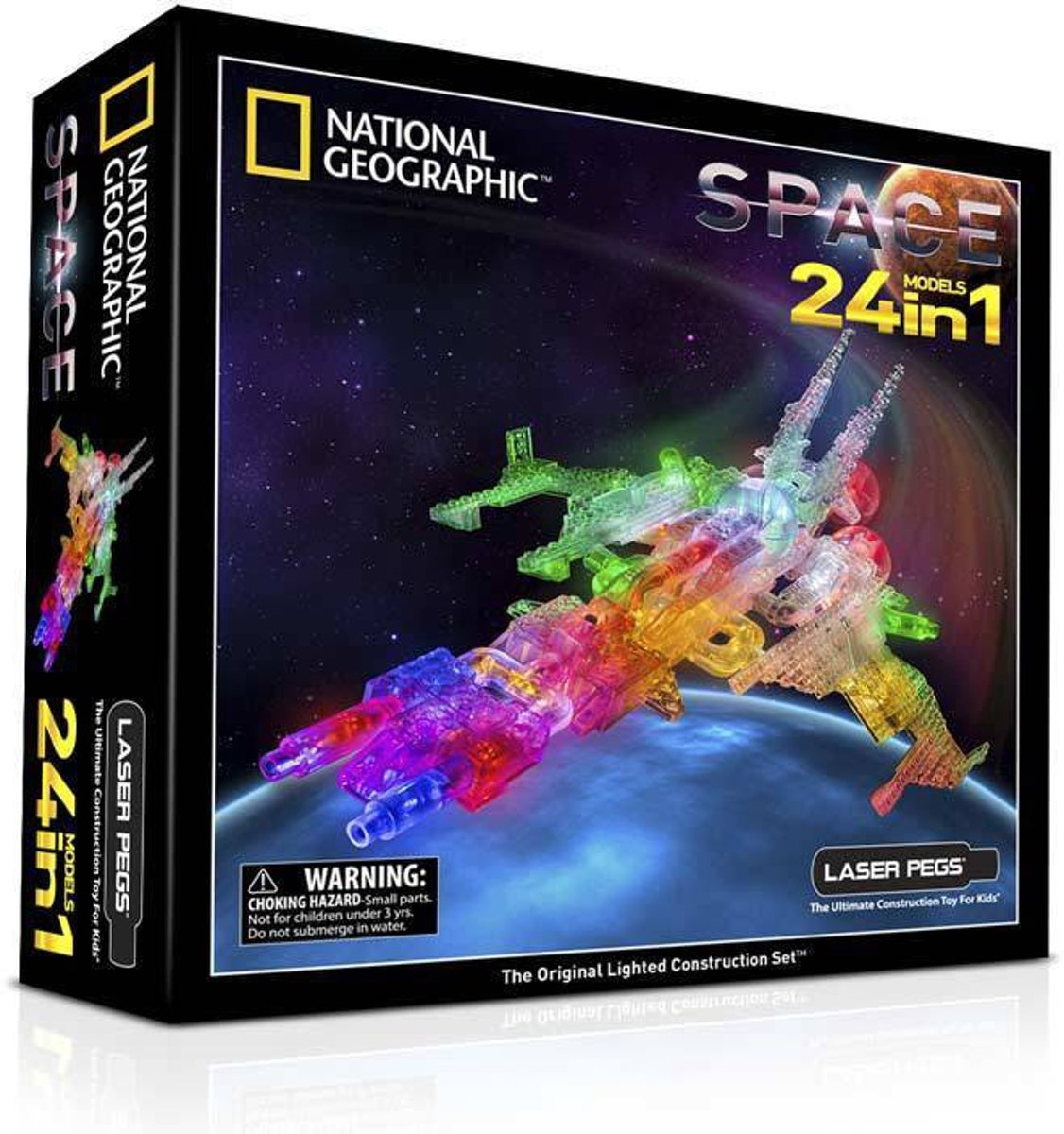 LaserPegs Space 24 in 1 National Geographic