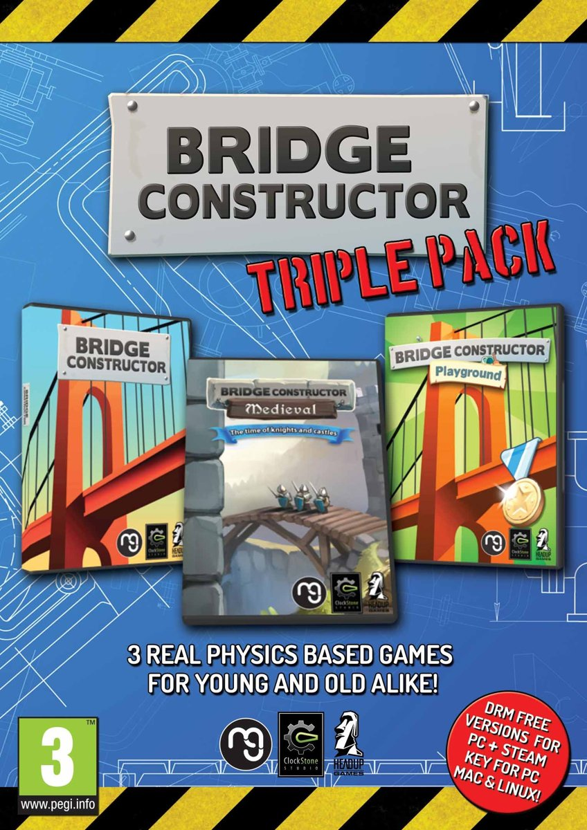 Bridge Constructor Triple Pack PC