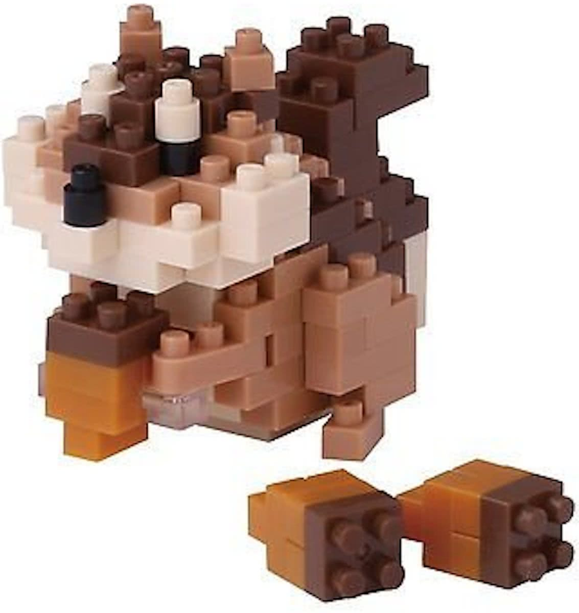 Nanoblock Squirrel NBC-178 by Kawada