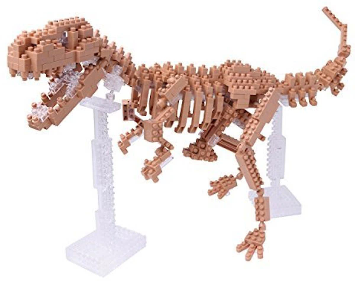 Nanoblock T-Rex Skeleton Model NBM-012 by Kawada