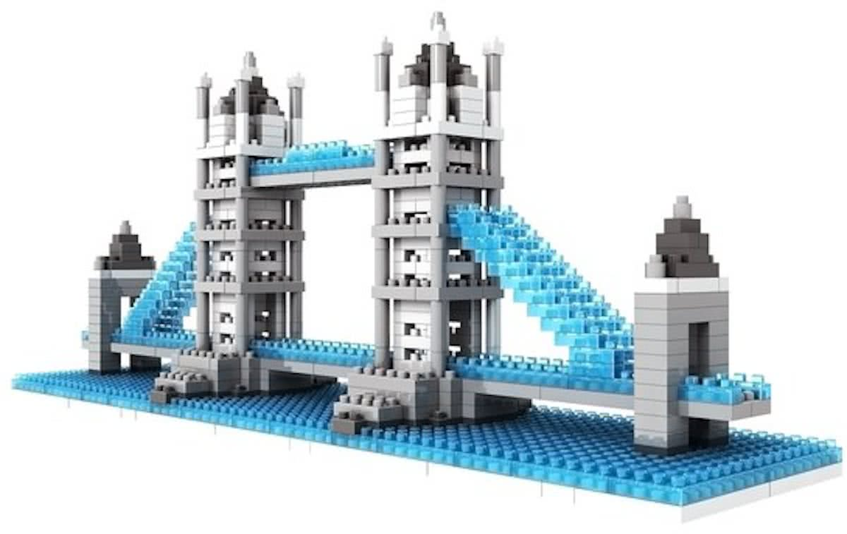Tower Bridge, LOZ, Diamond Blocks