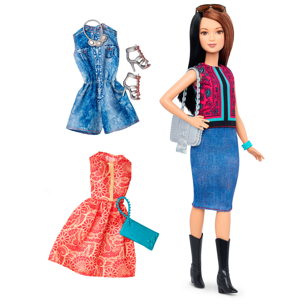 Barbie Fashionistas Pretty in Paisley Doll &