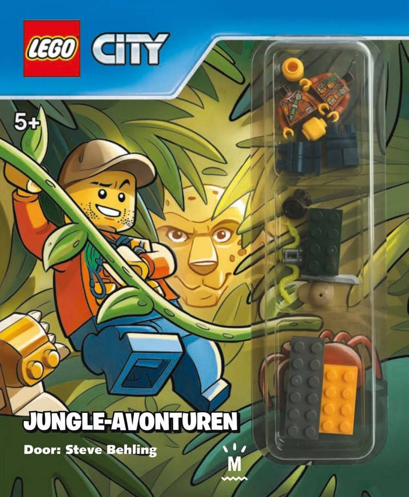 Boek Lego: City - jungle avonturen