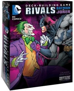 DC Comics Deck Building Game - Rivals Batman vs The Joker
