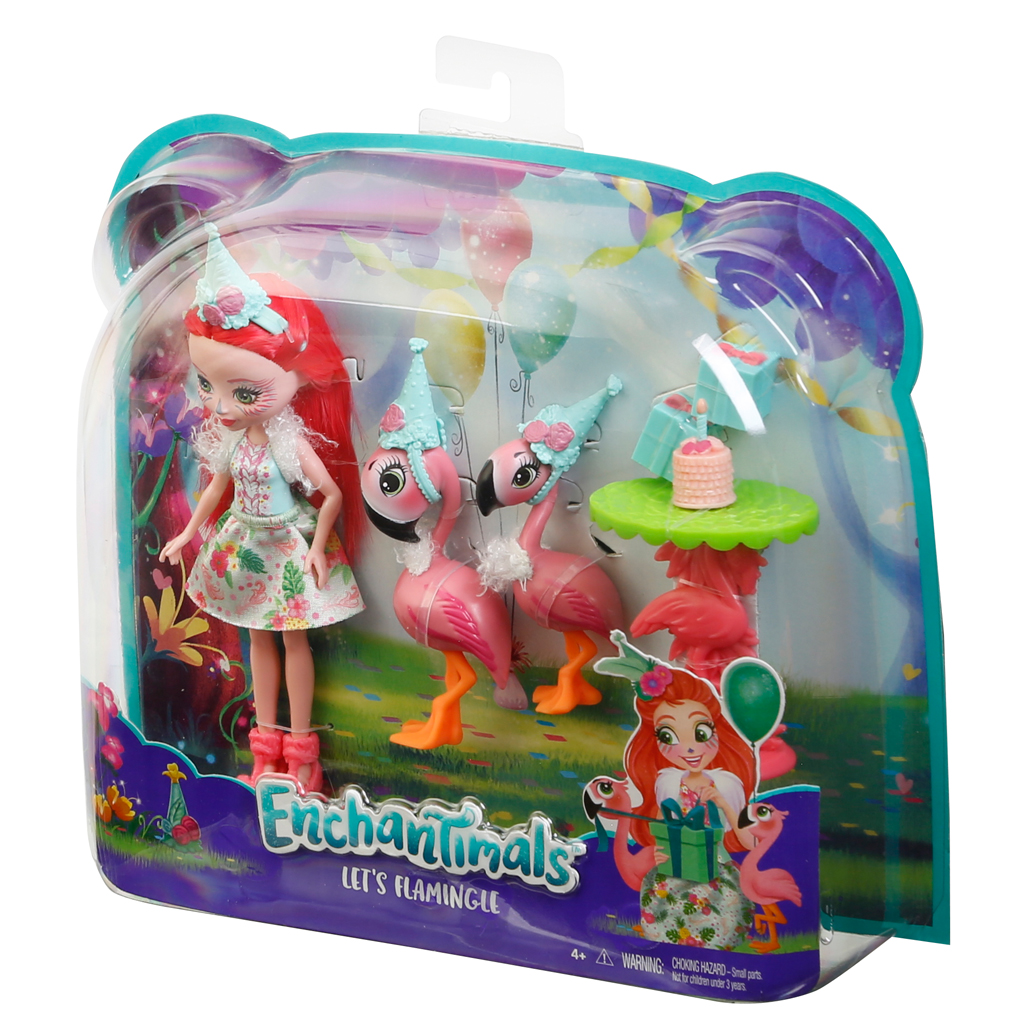 Enchantimals Themed Pack Flamingo Birthday