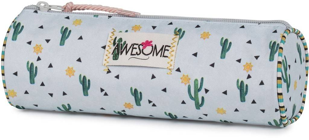 Etui Awesome Girls Cactus 8x23x8 cm