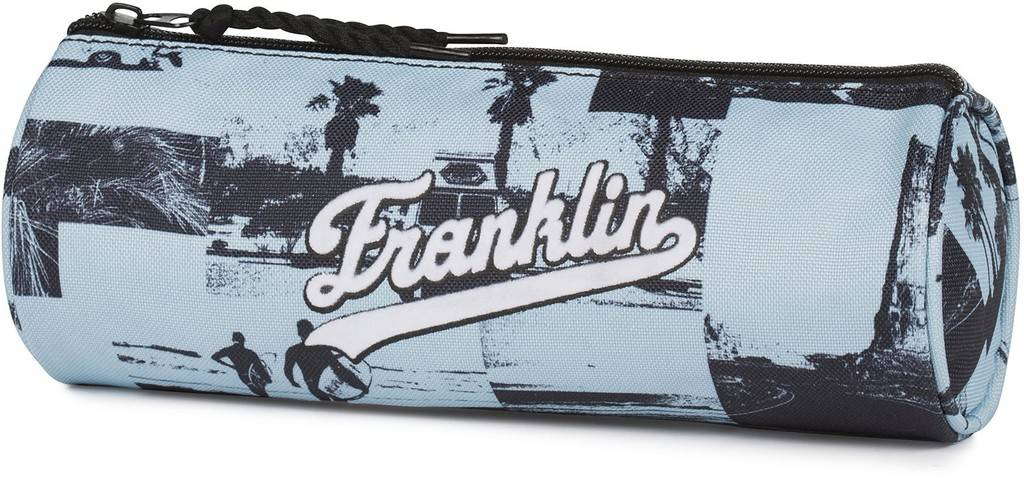 Etui Franklin M. Girls blue 8x23x8 cm