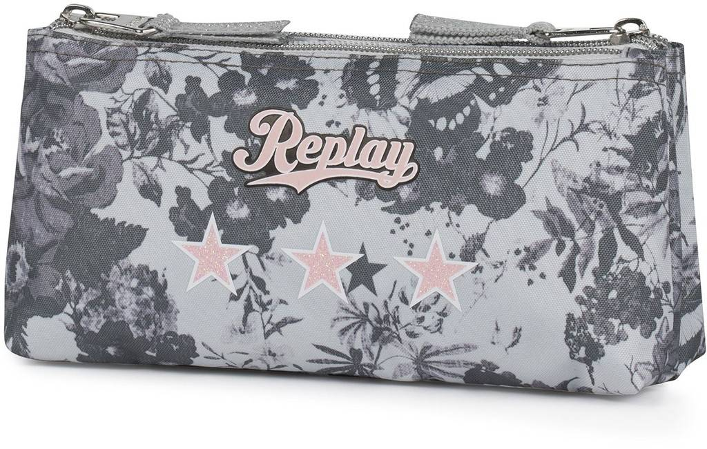 Etui Replay Girls grey 10x21x6 cm