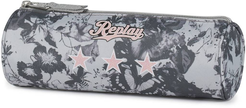 Etui Replay Girls grey 8x23x8 cm