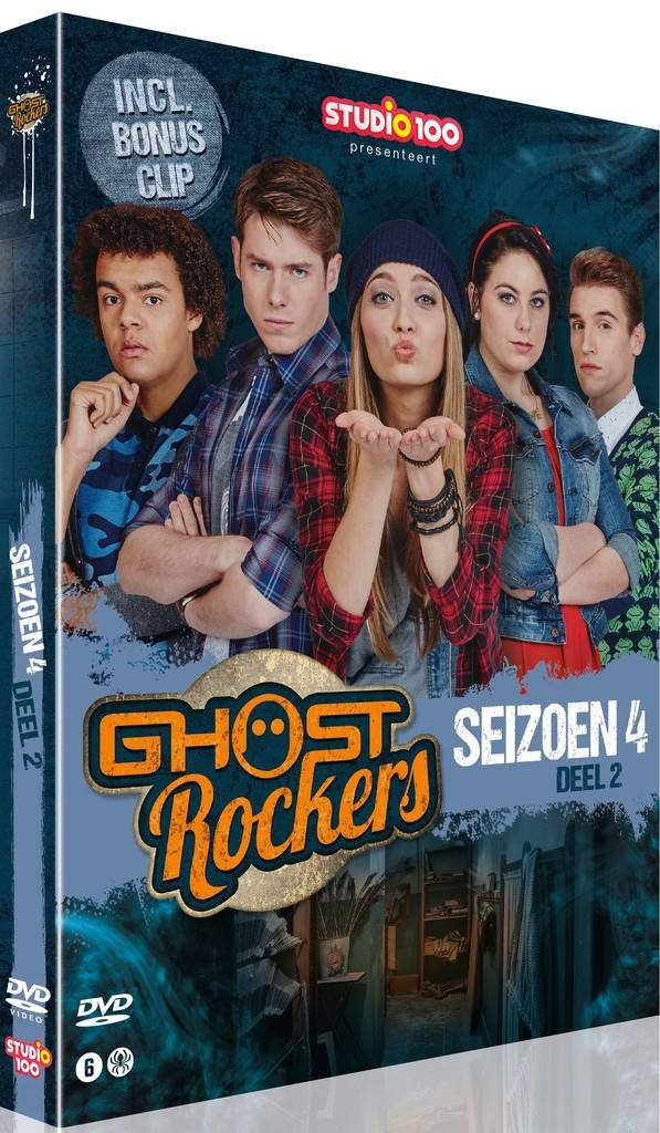 Ghost Rockers 2-DVD box - Seizoen 4 deel 2