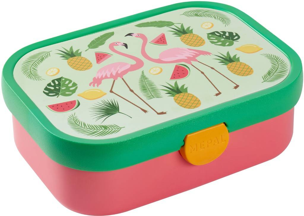 Lunchbox Tropical Flamingo Mepal