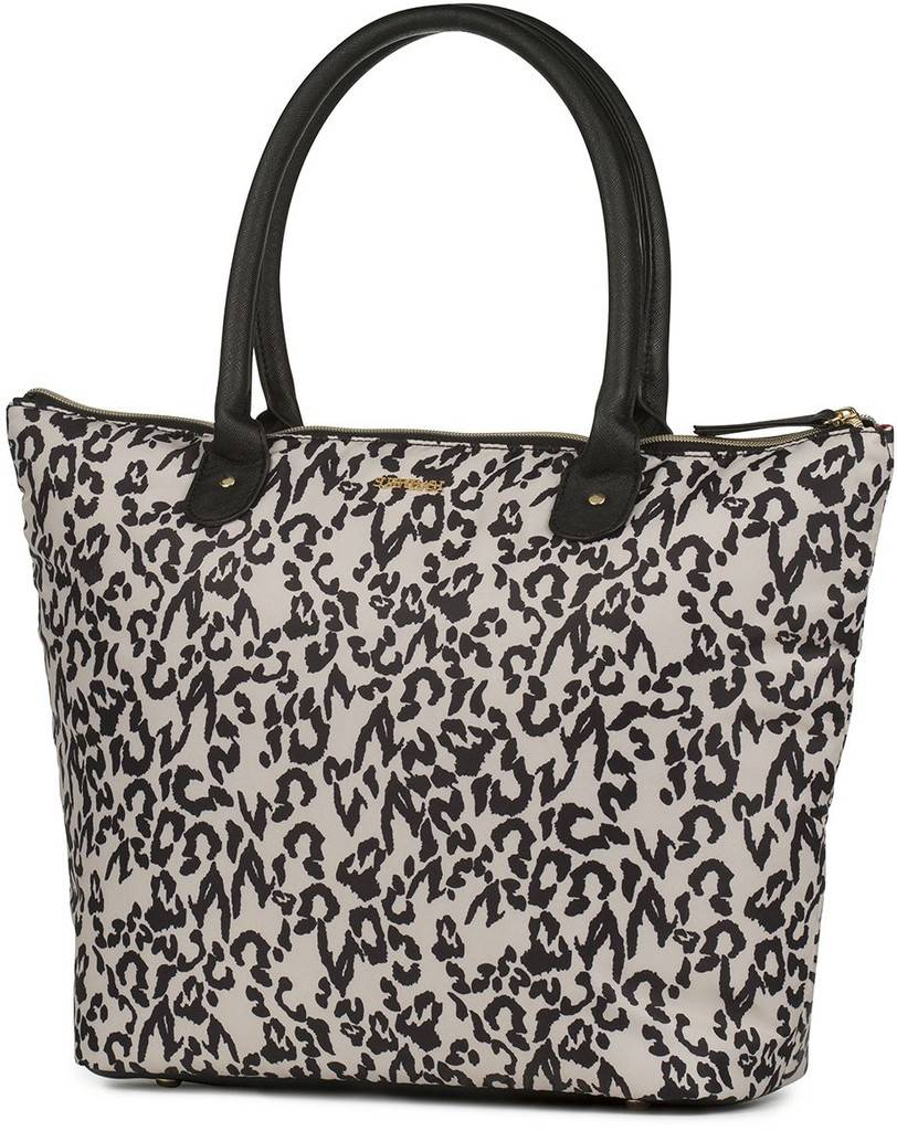 Shopper Supertrash leopard 32x48x12 cm
