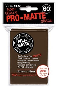 Sleeves Pro-Matte - Small Bruin (62x89 mm)