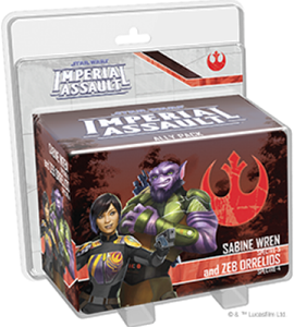 Star Wars Imperial Assault - Sabine And Zeb