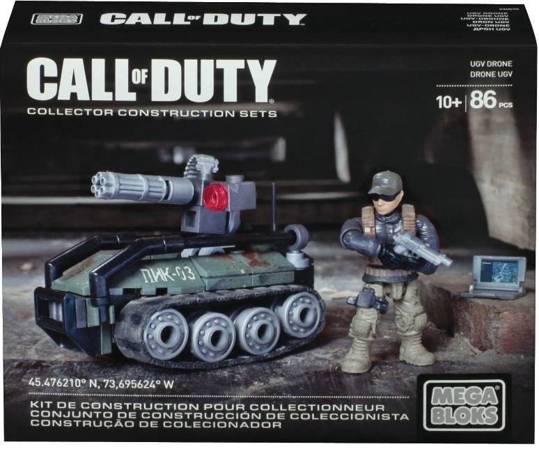 UGV Drone Mega Bloks: Call of Duty