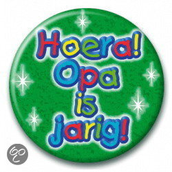 - Opa is jarig (55 mm)