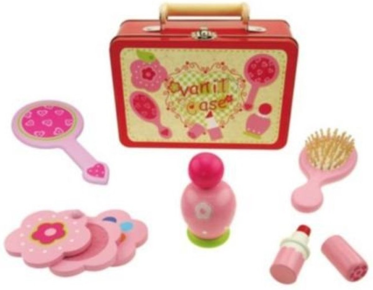 Simply For Kids Houten Make Up Koffer