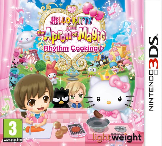 Hello Kitty And The Apron of Magic Rhythm Cooking (3DS) -
