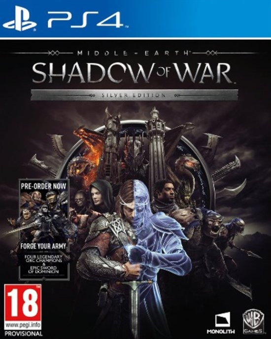 Middle-Earth: Shadow Of War - Silver Edition -