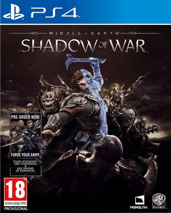 Middle-Earth: Shadow of War - PS4 -