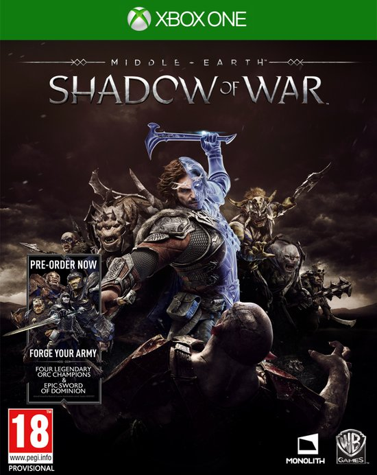 Middle-Earth: Shadow of War - Xbox One -