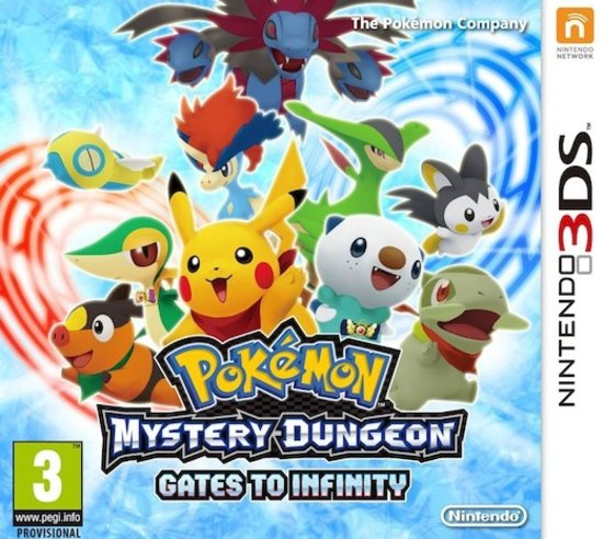 Mystery Dungeon: Gates to infinity 3DS