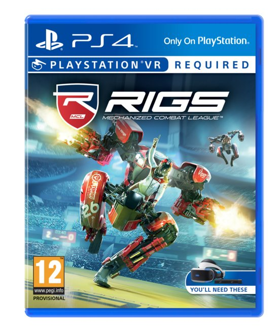 RIGS: Mechanized Combat League -   VR -