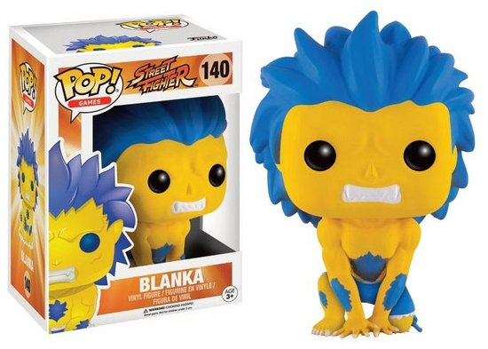 STREET FIGHTER - Bobble Head POP N° 140 - Yellow Blanca LIMITED