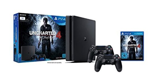Playstation 4 Slim 1TB Uncharted 4, 2 Controller USK 16 - Game Boy Advance