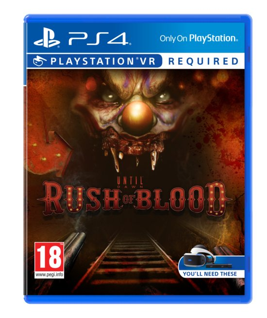 Until Dawn: Rush of Blood -   VR