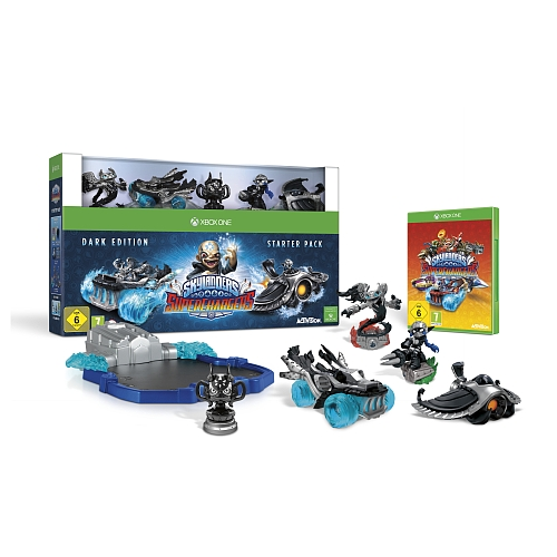 Skylanders superchargers dark edition, starter pack voor XBOX one