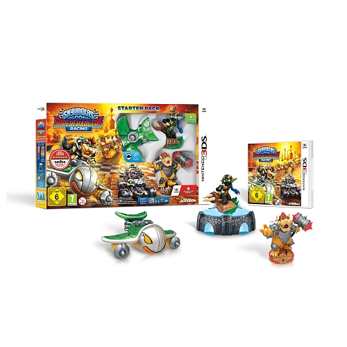 Skylanders superchargers racing, starter pack voor 3DS