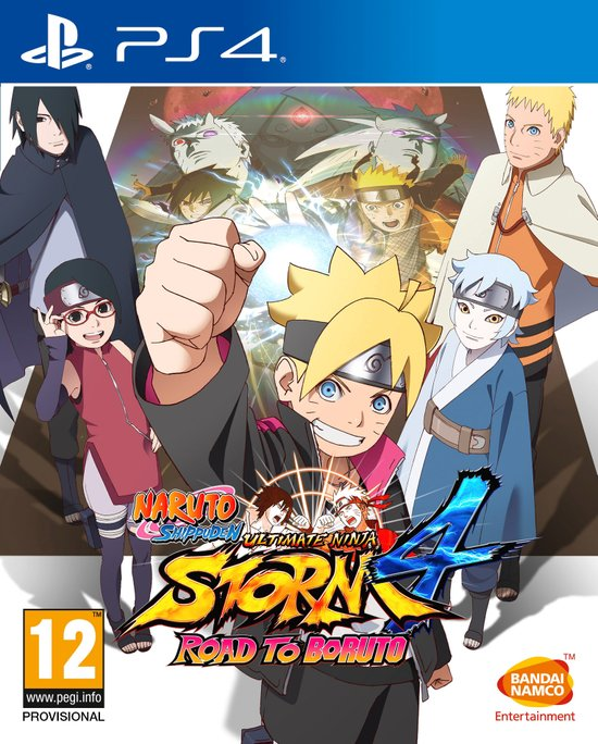 NSUNS4 ROAD TO BORUTO   - Playstation 4