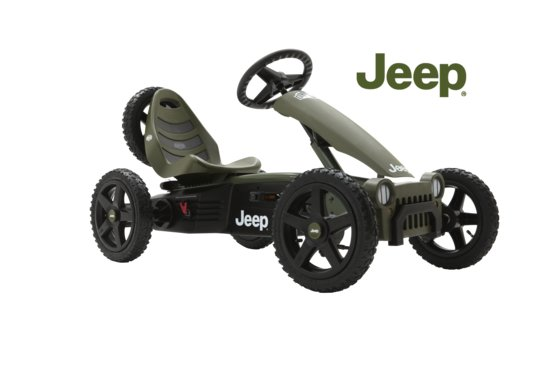 BERG Jeep Adventure Pedal go-kart - Skelter