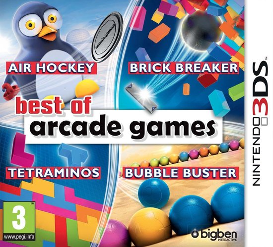 Best of Arcade Games - 2DS + 3DS -