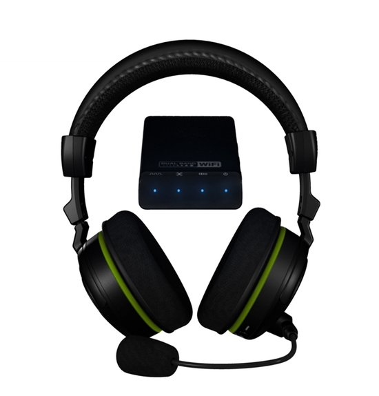 Turtle Beach Ear Force X42 Wireless 5.1 Virtueel Surround Gaming Headset - Zwart (Xbox 360) - Xbox 360
