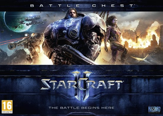 Starcraft II Battlechest (Starcraft II: Wings of Liberty + Starcraft II: Heart of the Swarm + Strategy Guide) -